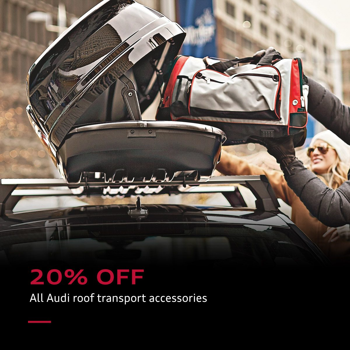Roof Transport Accessories 20% off